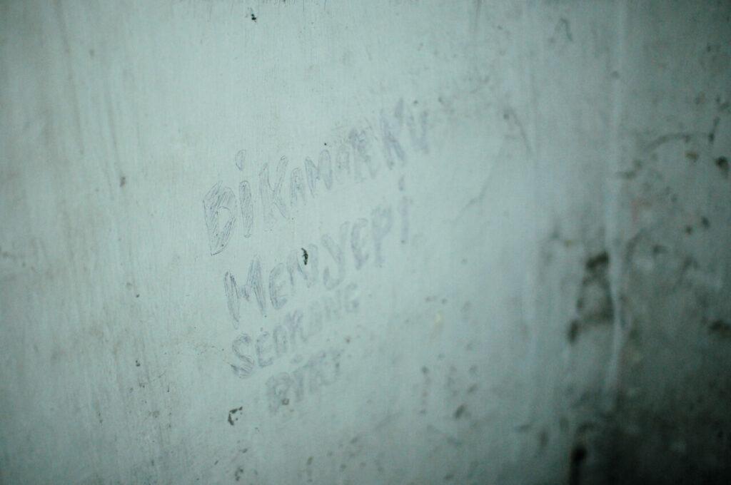 Luahan Hati Di Dinding Gambarkan Perasaan Penghuni Penjara Pudu 7