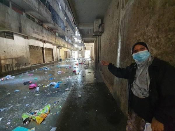 Penuh Sampah & Berbau Busuk, Flat Di Penang Ini Digelar Sebagai Yang Paling Kotor