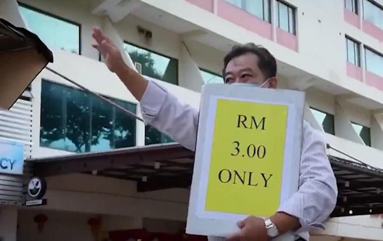Hotel Jual Makanan Harga Tepi Jalan