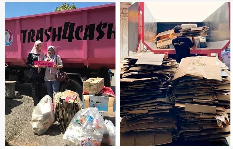 Trash4Cash Buang Sampah Buat Duit