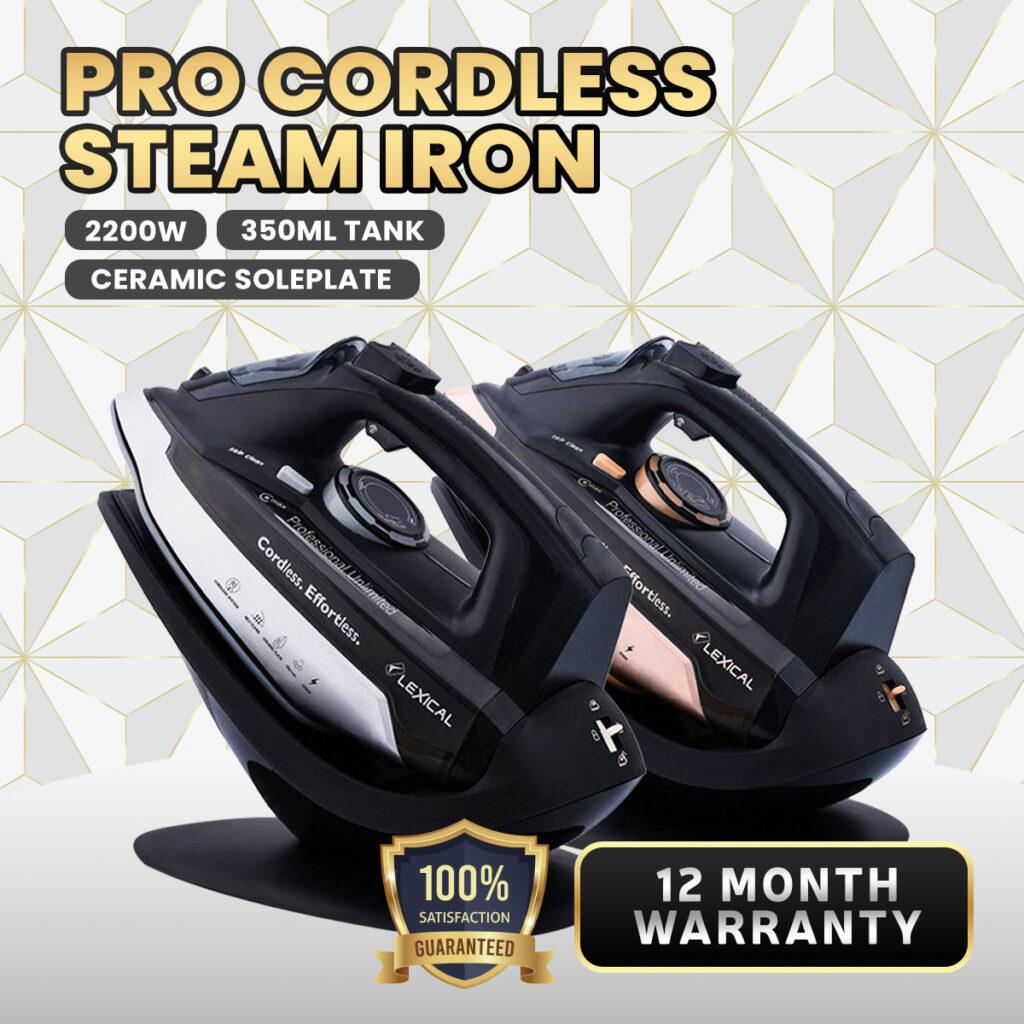 'Cordless Iron' Mudahkan Kerja Menggosok, Ini 5 Pilihan Terbaik Untuk Harga Mesra Poket 4