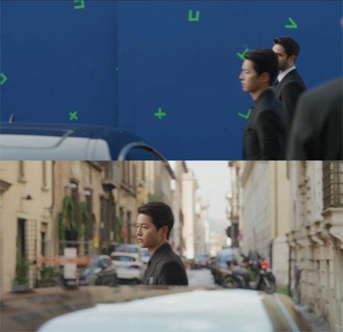 Penonton Terpana Lihat Babak Dalam Drama 'Vicenzo' Sebenarnya CGI 2