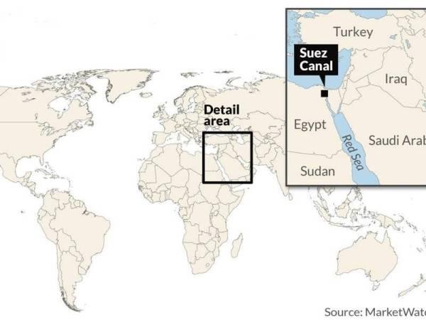 Perdagangan Dunia Terjejas Selepas Kapal Kargo 200 Ribu Tan Tersekat Di Terusan Suez 2
