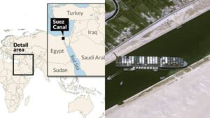 Perdagangan Dunia Terjejas Selepas Kapal Kargo 200 Ribu Tan Tersekat Di Terusan Suez 5