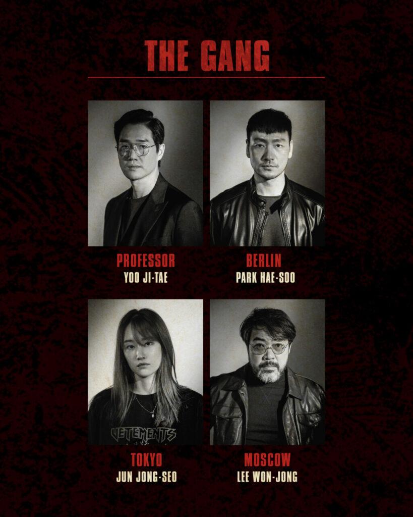 Senarai Pelakon Yang Akan Bintangi 'Money Heist' Versi Korea 1