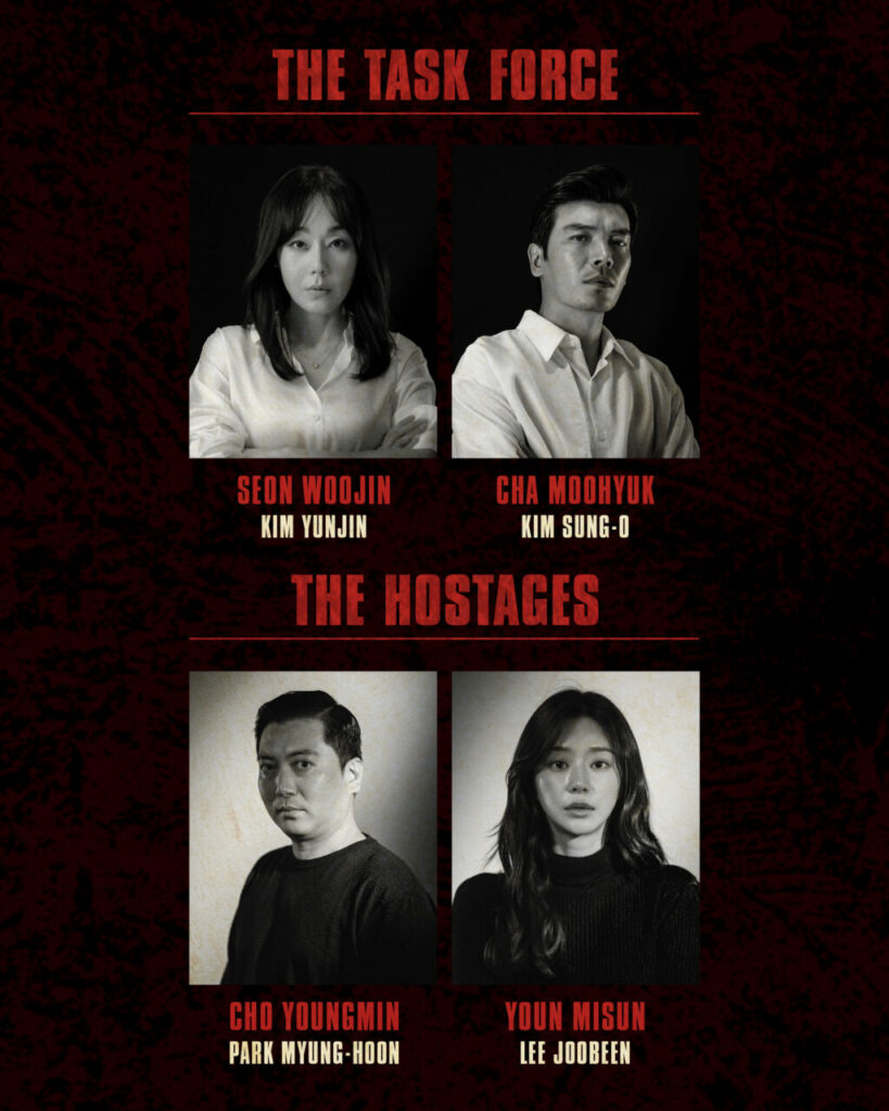 Senarai Pelakon Yang Akan Bintangi 'Money Heist' Versi Korea 3
