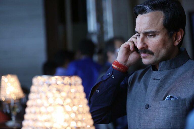 Sisi Taikun Saif Ali Khan Dalam 'Baazaar' 2