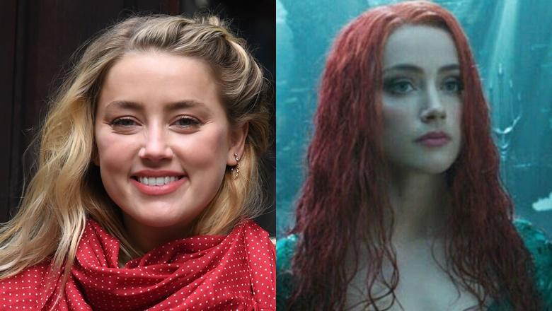 Amber Heard Dipecat Aquaman 2
