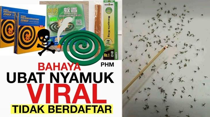 Ubat Nyamuk Viral Bahaya