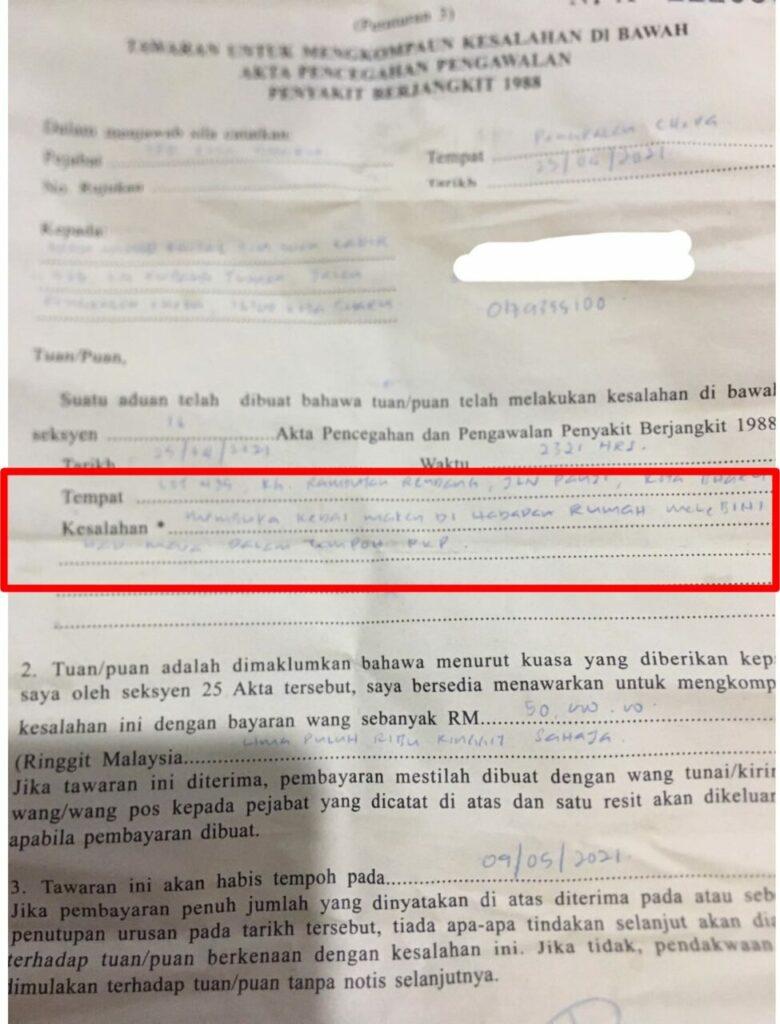 Berniaga Burger Lebih Had Masa, Peniaga Dikompaun RM50,000 2