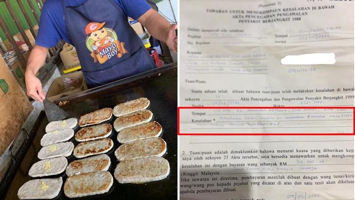 Berniaga Burger Lebih Had Masa, Peniaga Dikompaun RM50,000 4