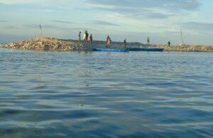 Pulau Baharu Muncul Selepas Ribut