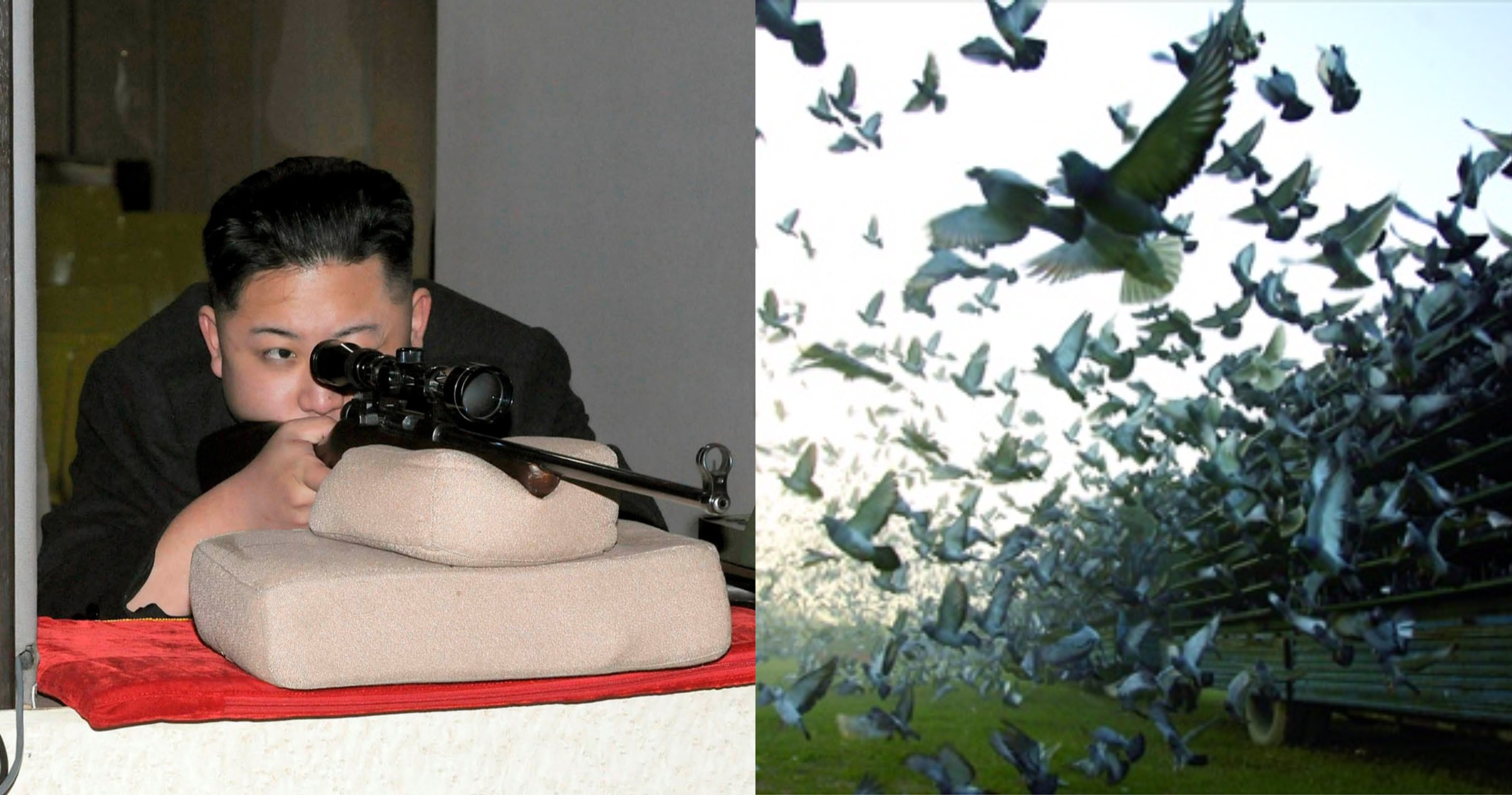 Kim Jong Un Lancar Perang Merpati