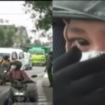 Menangis Semasa Ditahan Dalam Sekatan Jalan Raya, Polis Benarkan Wanita Rentas Daerah 3