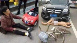 Pengci Scam Kemalangan Jalan Raya Yang Popular Di China 4