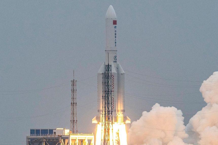 Serpihan Roket China Akhirnya Dilapor Terhempas Di Lautan Hindi 3