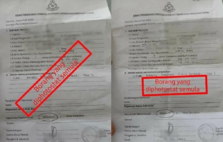Sanggup Beli Dokumen Palsu RM200 Rentas Negeri