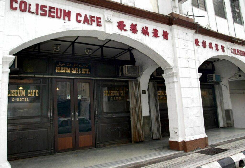 Coliseum Cafe Kuala Lumpur Tutup Selamanya