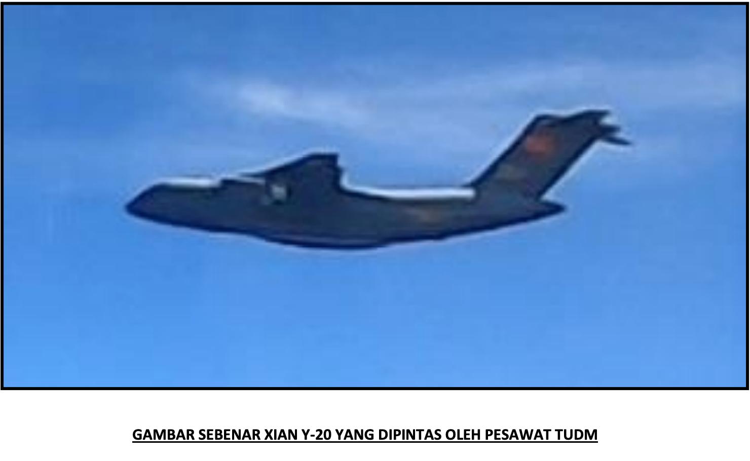 16 Pesawat Mencurigakan Milik Tentera Udara China Dikesan Masuk Ke Ruang Udara Malaysia 4