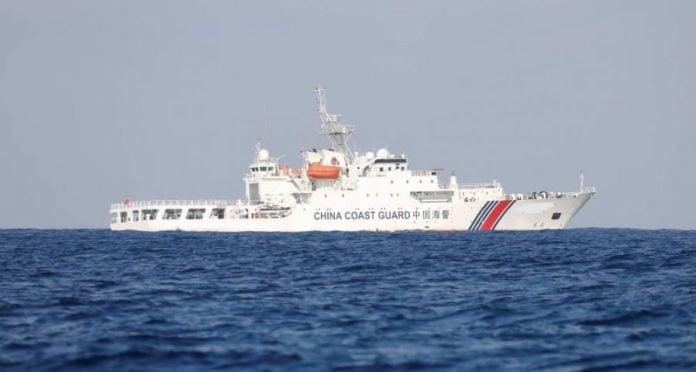China Ceroboh Perairan Malaysia