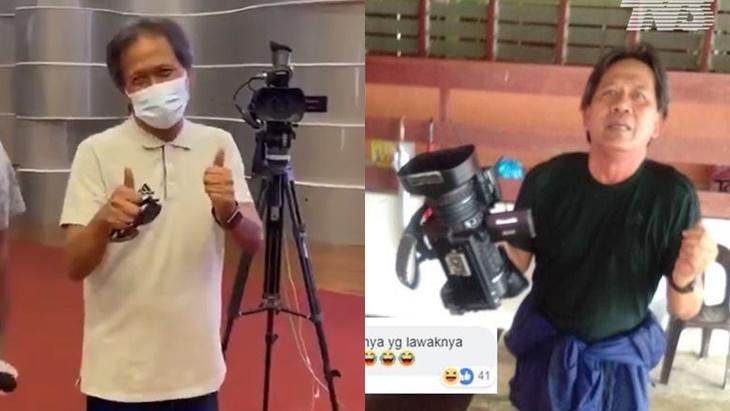26 Tahun Berkhidmat Dengan TV3, Wartawan Dedah Wajah 'Abe Ajis Jatuh Bok' Sempena Persaraan Beliau 4