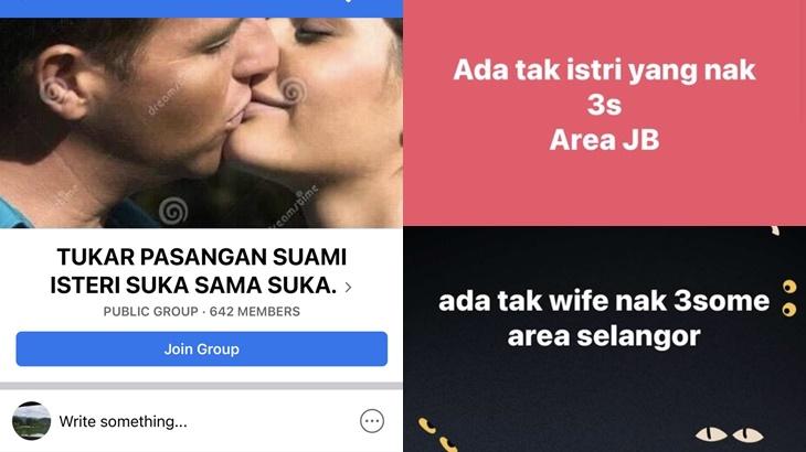 Tawar Menawar Macam Beli Barang, Group Tukar Pasangan Umpama Barah Dalam Masyarakat 5