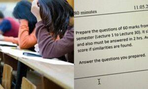 Universiti Benarkan Pelajar Reka Soalan Sendiri