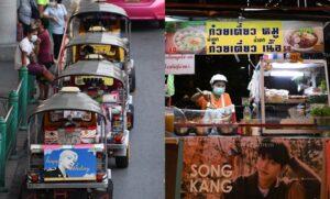 Peminat K-pop Thailand Bantu Pemandu Tuk-Tuk