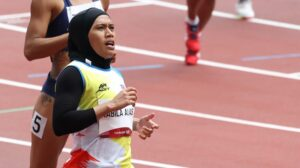 Azreen Nabila Tetap Menyinar Di Olimpik 2020 Biarpun Tanpa Ditemani Jurulatih 2