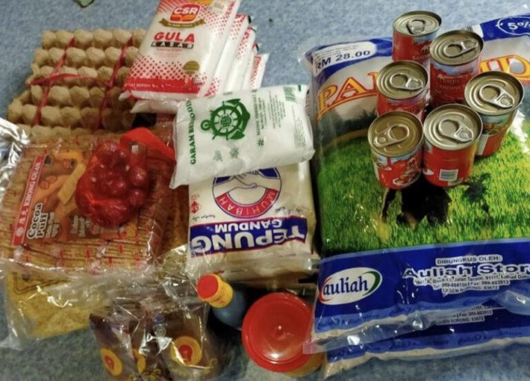 Bantuan Bakul Makanan