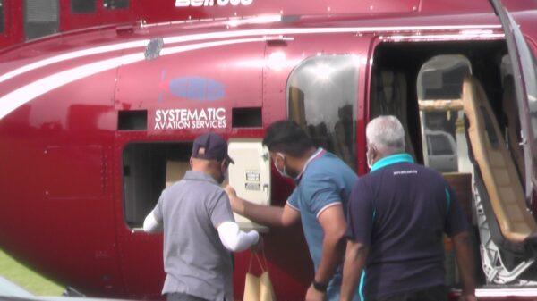 Helikopter Dari Kuala Lumpur Mendarat Di Padang Ipoh Untuk Pesanan 36 Bungkus Nasi Ganja 1