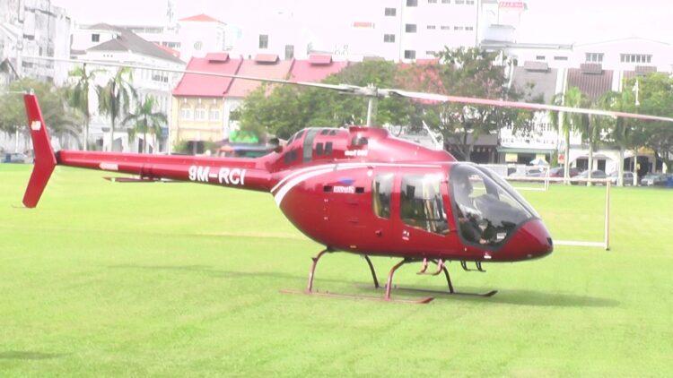 Helikopter Dari Kuala Lumpur Mendarat Di Padang Ipoh Untuk Pesanan 36 Bungkus Nasi Ganja 2
