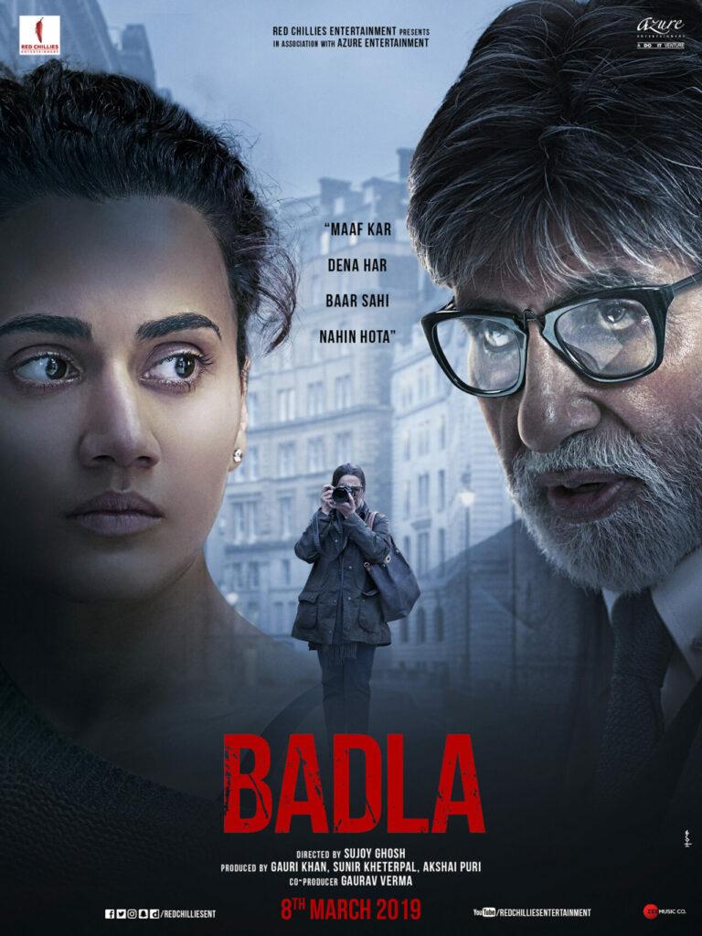 Lakonan Hebat Amitabh Bachchan & Taapsee Pannu Dalam 'Badla' 3