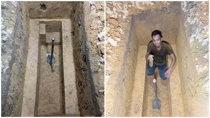 Hasil Kerja Tangan Penggali Kubur
