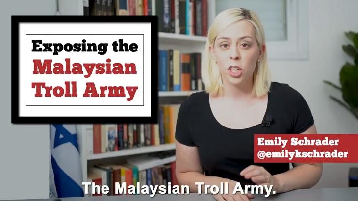 Wanita Israel Dedah Kecaman Malaysia