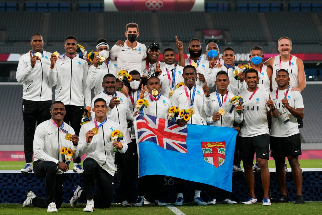 Fiji Ragbi 7s Emas Olimpik Tokyo