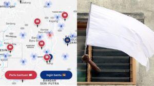 #BenderaPutih Aplikasi Bantuan