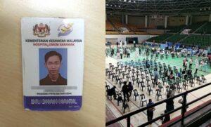 Pemuda Menyamar Sebagai Doktor Di PPV Sarawak