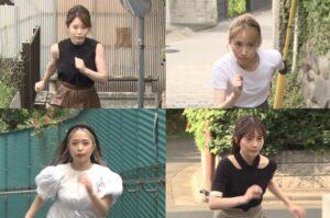 Rancangan TV Jepun Wanita Berlari