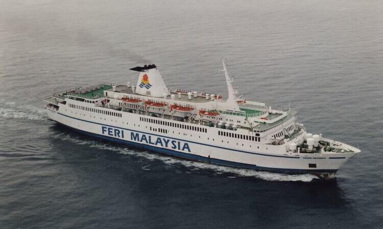 Feri Malaysia Penghubung Semenanjung Borneo