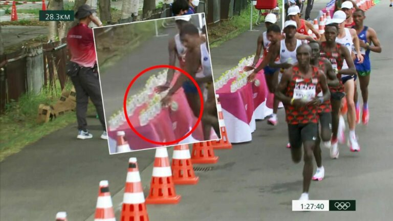 Jatuhkan Semua Botol Air, Atlet Maraton Perancis Didakwa Cuba Lakukan Sabotaj 2