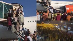 Lapangan Terbang Antarabangsa Kabul Kucar Kacir, Rakyat Terdesak Mahu Keluar Sehingga Panjat Pesawat 4