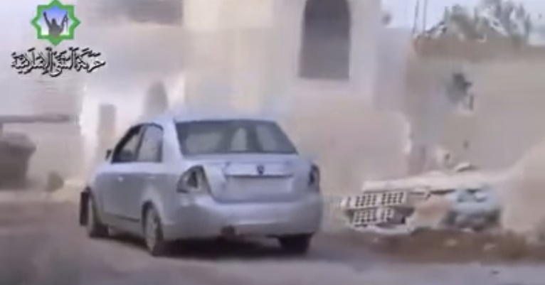 Video Proton Saga Digunakan Sebagai Bom Kereta Di Syria Kembali Tular 1