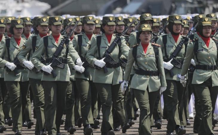 Tentera Indonesia Henti Ujian Dara Wanita