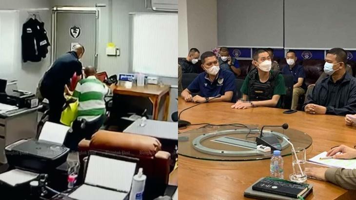 Ketua Balai Polis Thai Seksa Pengedar Dadah Maut