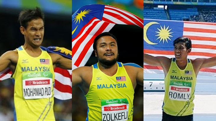Atlet Emas Paralimpik Negara