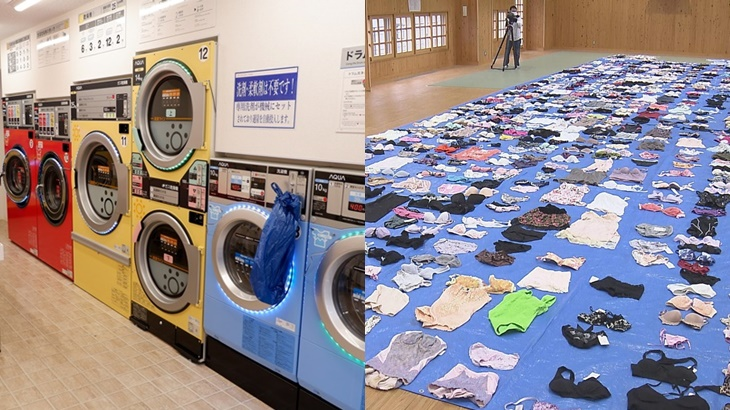 'Rampasan Terbesar Dalam Tempoh Beberapa Tahun', Lelaki Ditahan Curi Lebih 700 Pakaian Dalam Dari Dobi 3