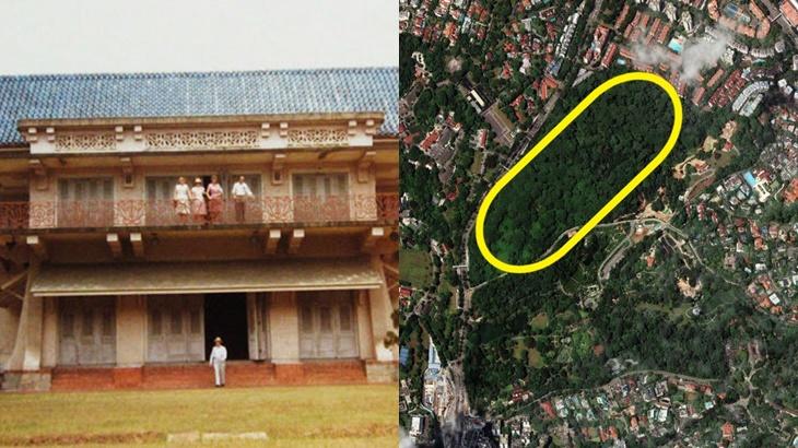Tanah Istana Johor Di Singapura Dibangun Semula