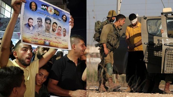 Israel Tahan Ahli Keluarga Enam Tahanan Palestin Penjara