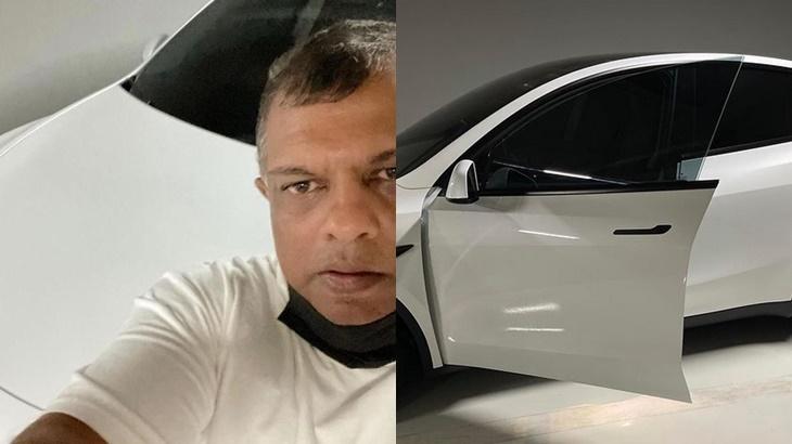 Kereta Tesla Tony Fernandes